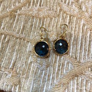 Ippolita London blue sapphire and 18k earring